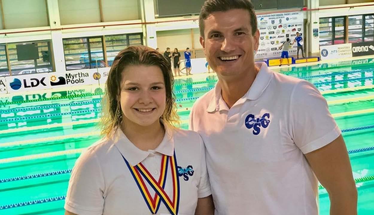 Két bronzérem Maria Raluca Artenenek