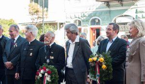 Emlékezők és tisztelgők Sepsiszentgyörgyön /Fotó: Klárik Loránd