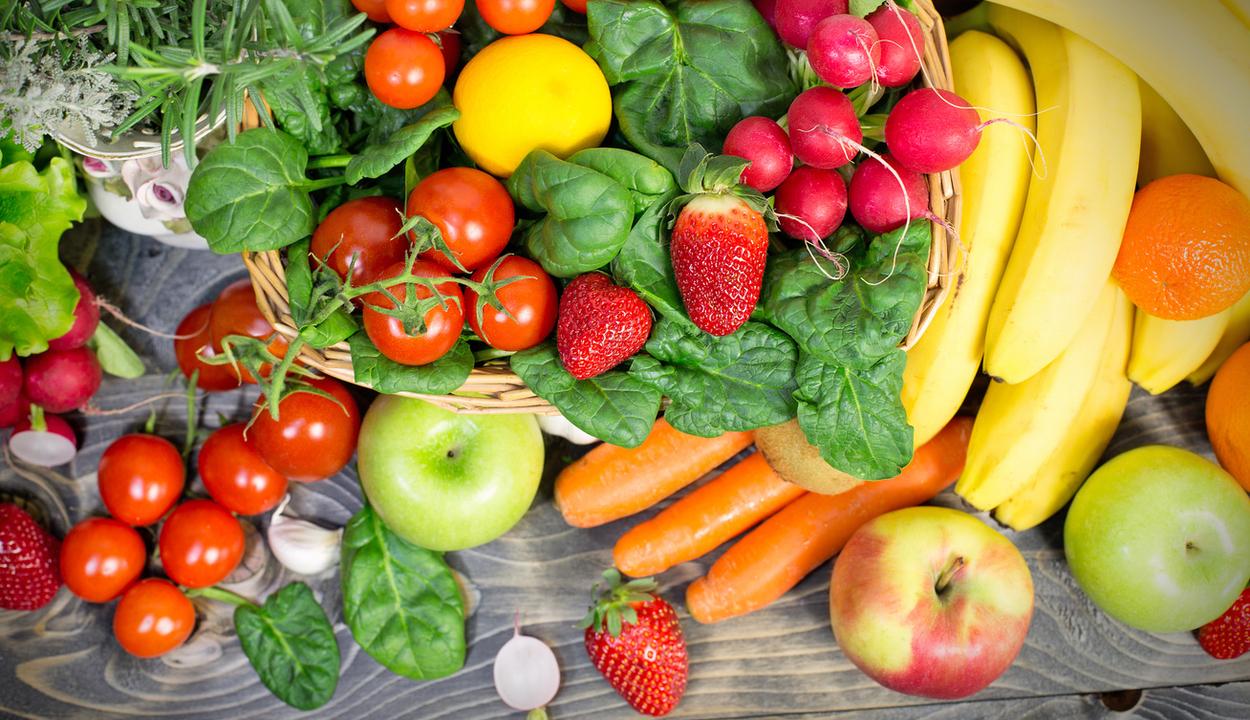 Aggasztóak az adatok a zöldség- és gyümölcsfogyasztásról