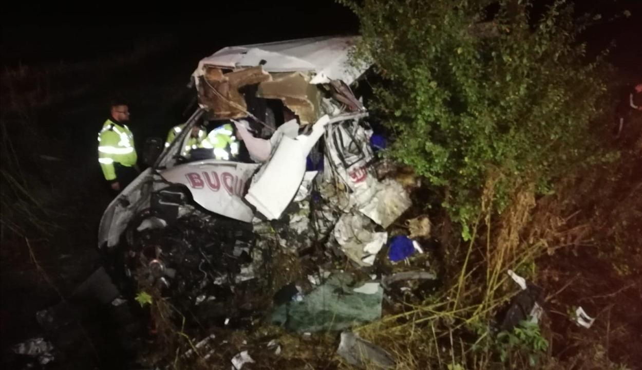 Súlyos baleset Ialomița megyében: tíz személy meghalt, nyolcan megsérültek