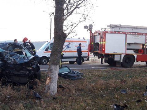 Súlyosan megsérült egy nő Hargita megyében, miután nekiütközött kocsijával egy lónak
