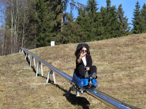 Nyári bobpályát avattak Borszéken