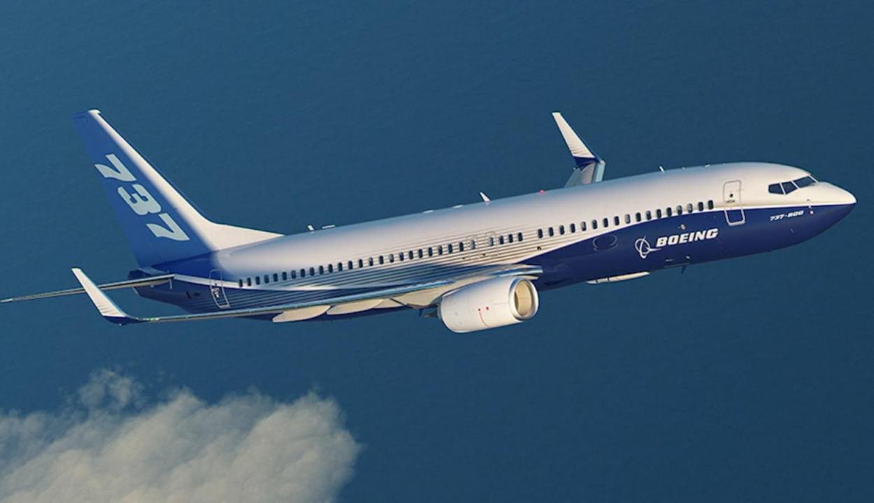 Baj van a Boeing 737-es repülőivel