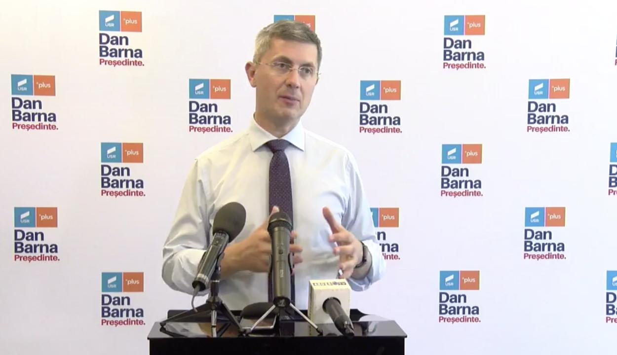 USR: kezdődik a párttagok bizalmi szavazása Dan Barna tisztségben való maradásáról