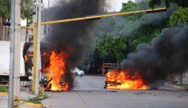 Drogbandák háborúja miatt csatatérré vált egy mexikói nagyváros