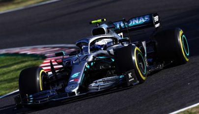Forma-1: Bottas győzött Szuzukában, világbajnok a Mercedes