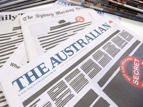 Kitakart címlappal jelentek meg az ausztrál lapok