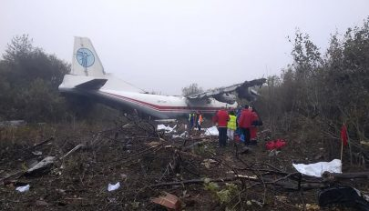 Kifogyott az üzemanyag, lezuhant egy teherszállító repülő Ukrajnában