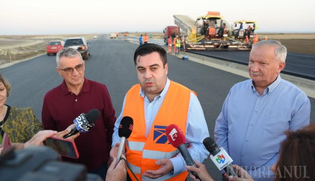 Cuc: Biharban hamarabb készül el az autópálya a határ román oldalán, mint a magyarországin