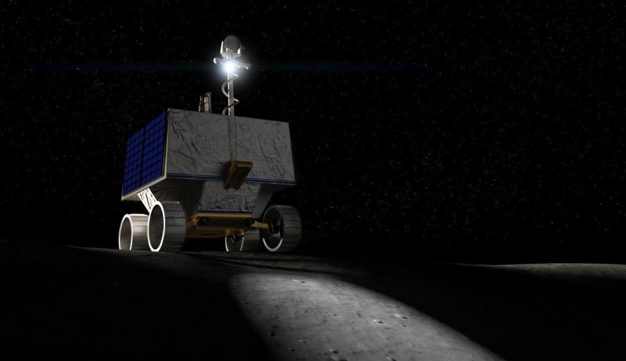 Vizet keres a Holdon a NASA új robotja