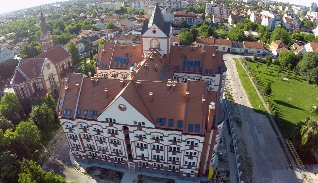 Magyar diákkollégium a Vajdaságban