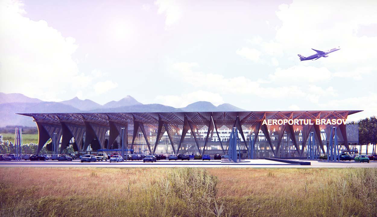 Lendületet vehet a brassói reptér építése