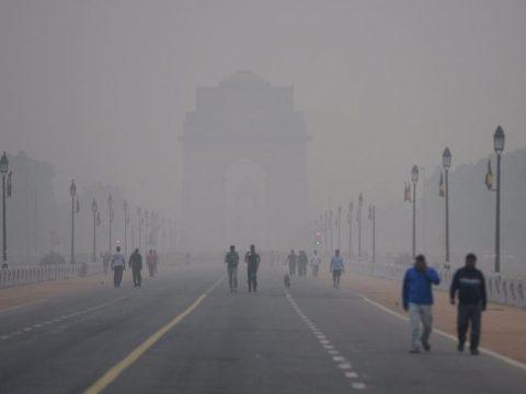 Hatalmas a szmog Delhiben