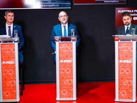 Barna, Kelemen és Paleologu vitázott az Európa FM-nél