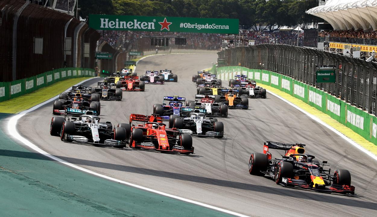 Forma-1: Verstappen nyerte a Brazil Nagydíjat, Gasly a második