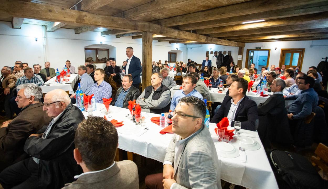 Tisztújító küldöttgyűlés Zágonban
