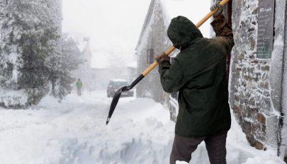 Ciklonok és hóviharok dúlnak az Egyesült Államokban