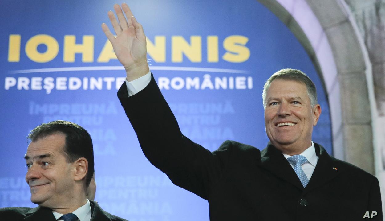 Klaus Iohannis államfő újévi üdvözlete