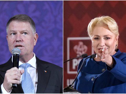 Johannis és Dăncilă vita helyett párhuzamos rendezvényeken támadták egymást