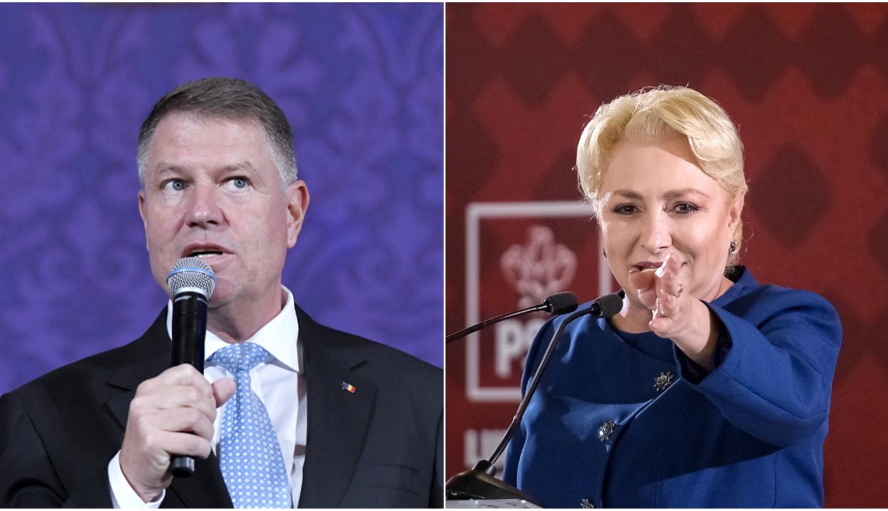 Exit-poll: Johannis toronymagasan győzött Dăncilával szemben