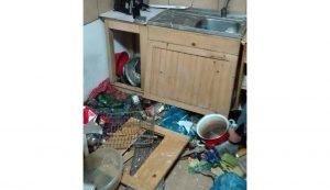 Laczkó Áronék konyhája a legutóbbi látogatás után