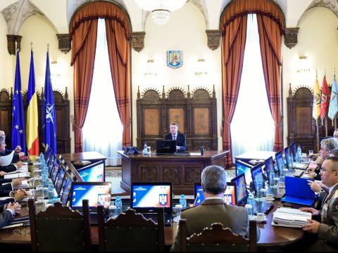 Szerdán összeül a Legfelsőbb Védelmi Tanács
