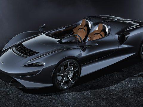 Szélvédő nélküli luxusautót mutatott be a McLaren