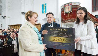 Jótékonysági hangverseny Kovásznán