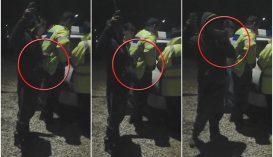 Igazoltatás közben lopta ki a rendőr zsebéből a cigit