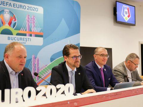 A Nemzeti Arénába látogatott az UEFA küldöttsége