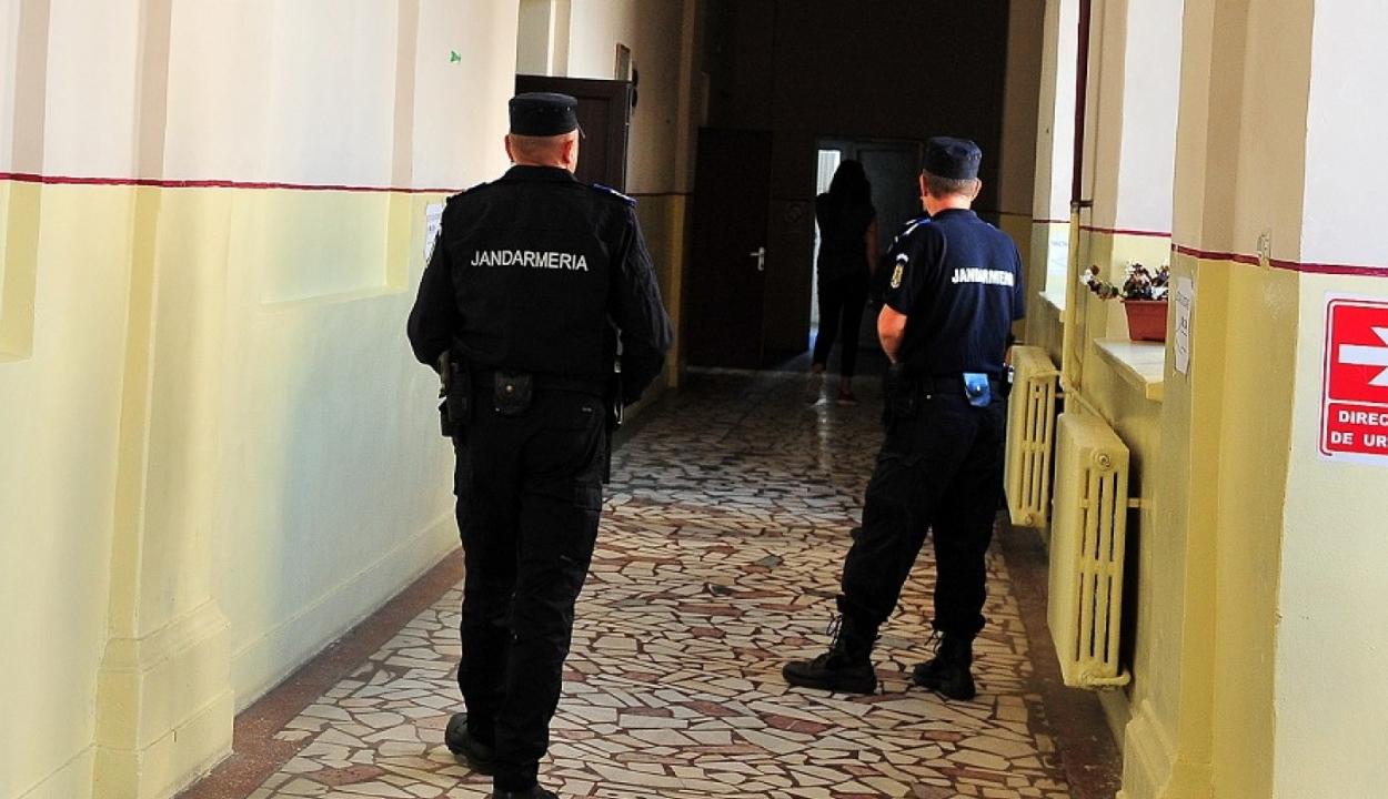 Csendőrbotrány Bukarestben