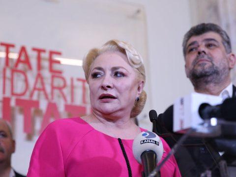 FRISSÍTVE: Lemondott a PSD elnöki tisztségéről Viorica Dăncilă