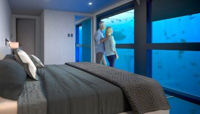 Víz alatti hotel nyílik a Nagy-korallzátonynál