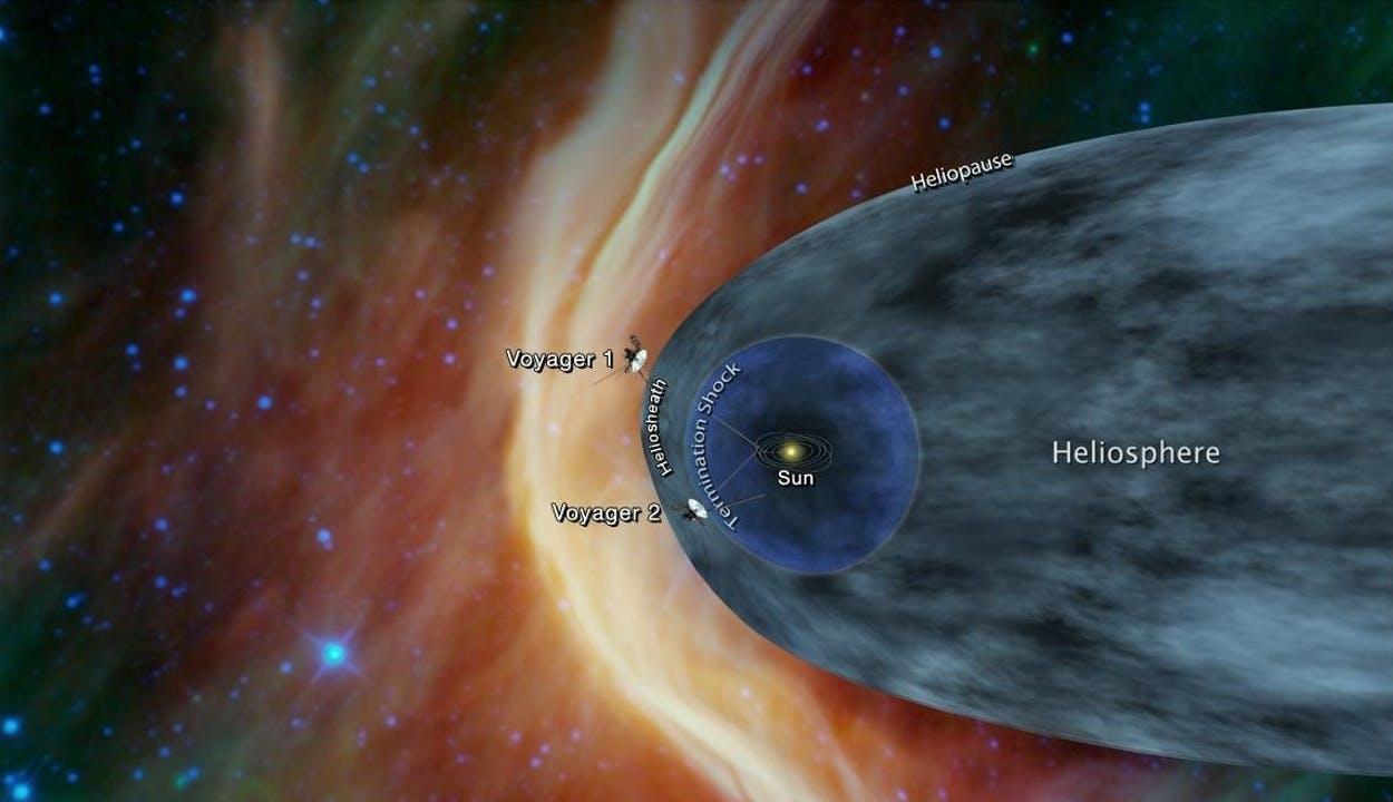 Most már biztosan csillagok között jár a Voyager 2