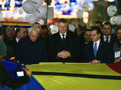 Az államfő és a miniszterelnök is részt vettek a megemlékezésen