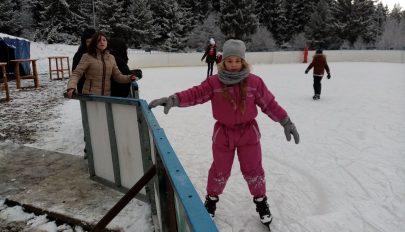 A siklás téli örömei