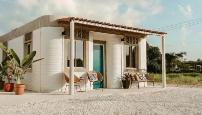 Bemutatták a világ első faluját, amely kizárólag 3D-ben nyomtatott házakból áll
