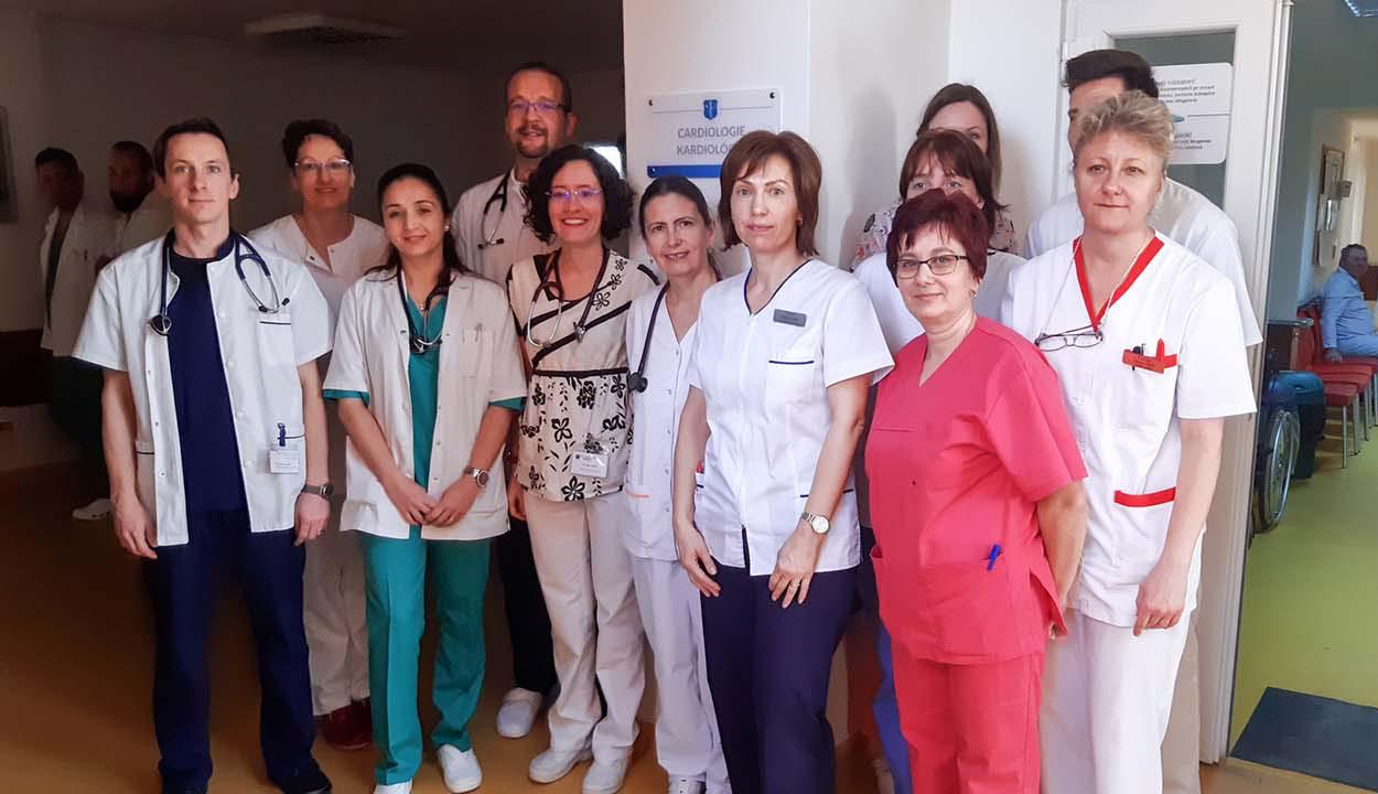 Fiatal, felkészült csapat a kardiológián