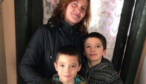Egy mikóújfalusi segített családnál