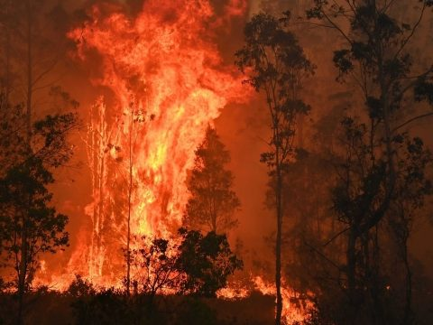 Lángokban áll Victoria állam