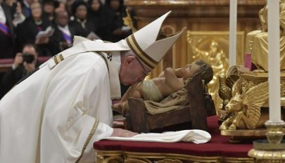 Ferenc pápa üzenete