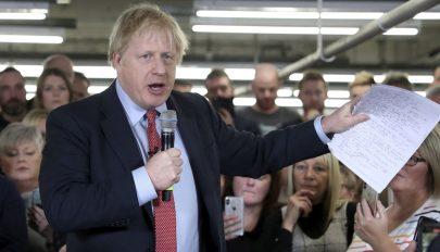 Brit választások: jelentős fölénnyel győzött Boris Johnson pártja