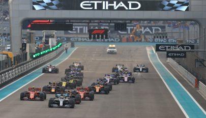 Forma-1: Hamilton nyerte az idényzáró futamot