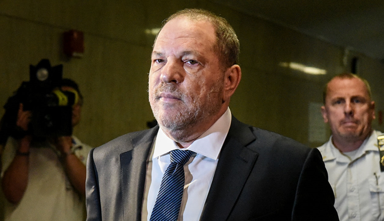Huszonhárom év börtönre ítélték Harvey Weinsteint