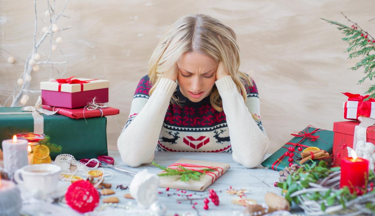 Pszichológus: stresszt okozhat a karácsonyi készülődés