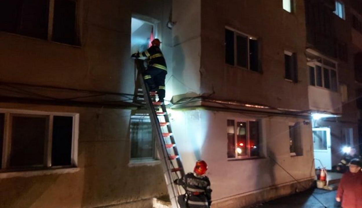Majdnem felgyújtotta a lakását egy pszichés beteg Szentgyörgyön