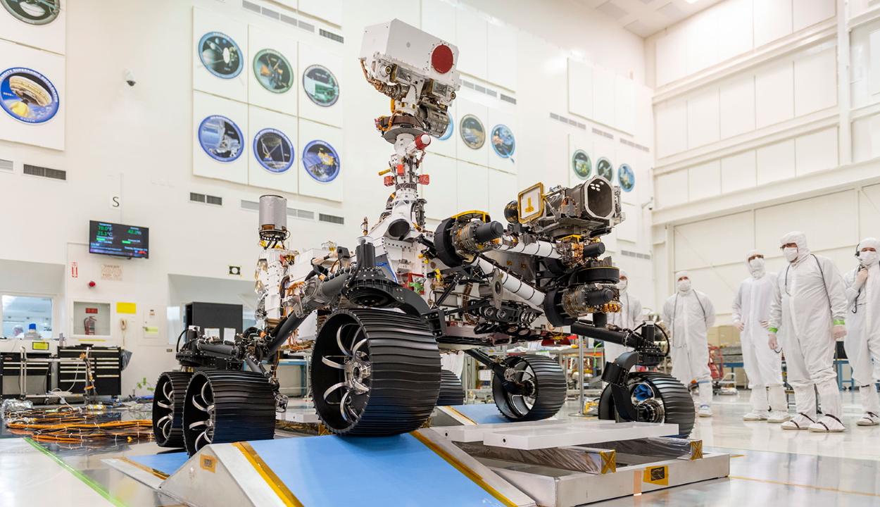 Megszerezte a jogosítványt a NASA marsjárója