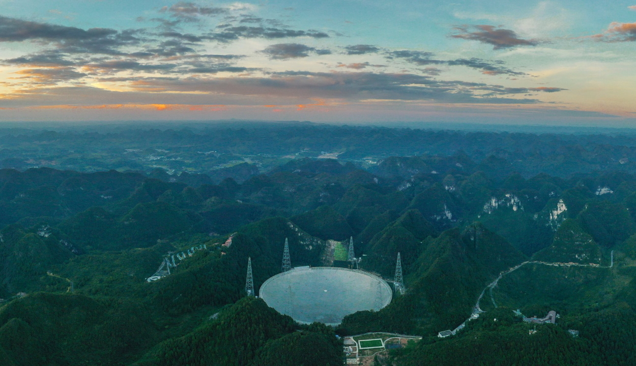 Végre beindulhat a nagy ufóvadász teleszkóp Kínában
