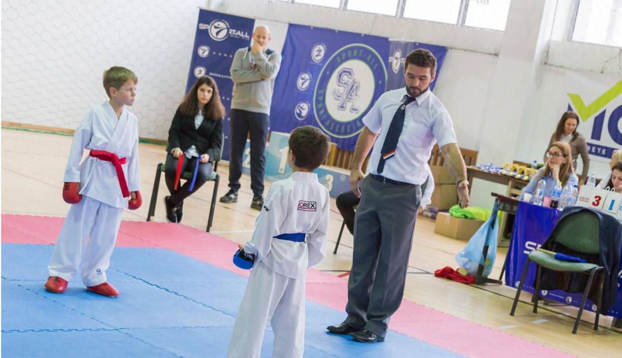 Továbbra is népszerű a karate
