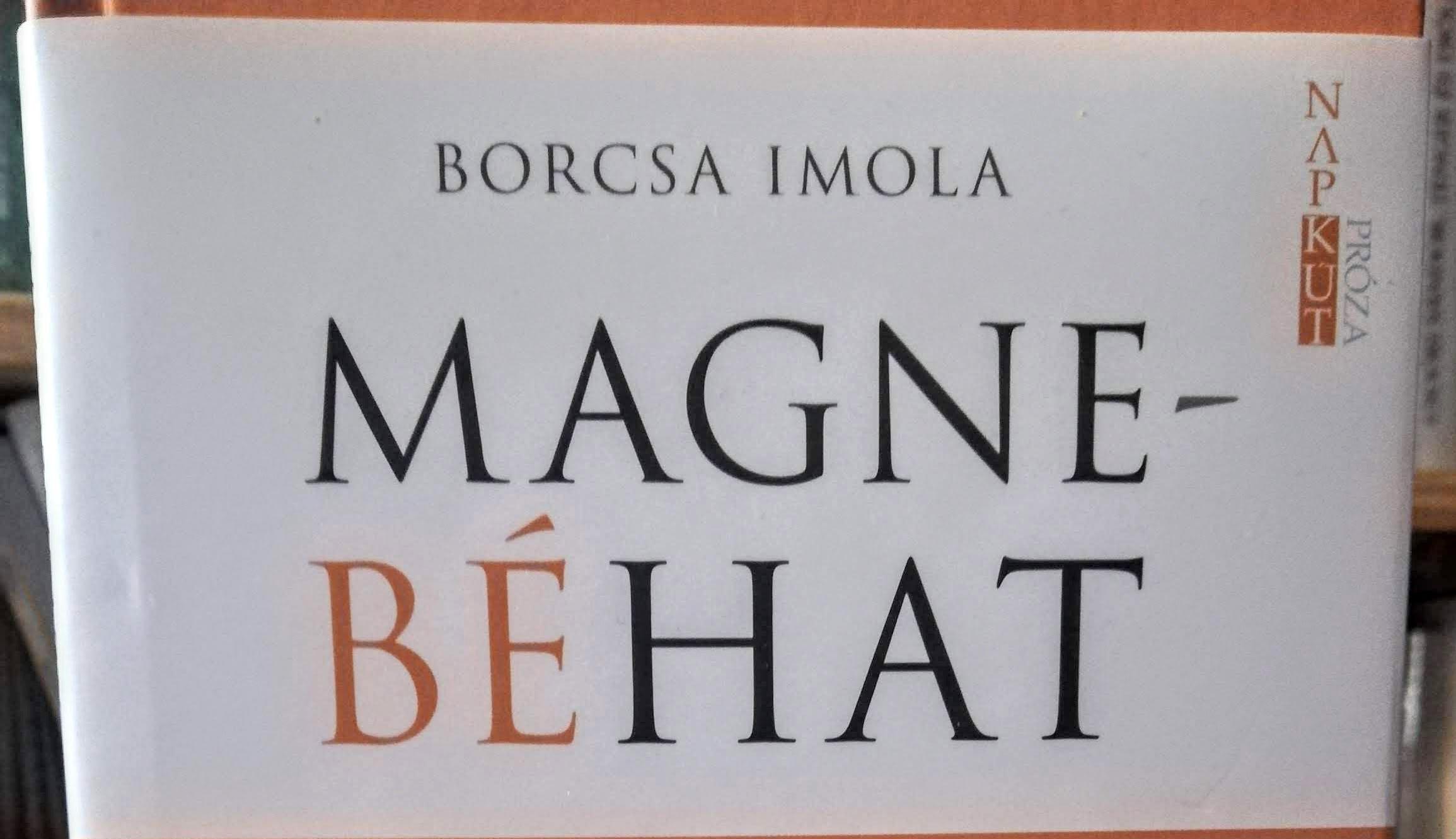Megjelent Borcsa Imola első kötete